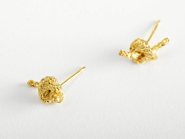 Noot Knot Stud Earrings