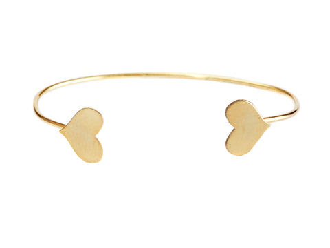 Only heart bangle