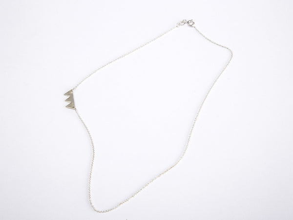 Teeth Necklace silver