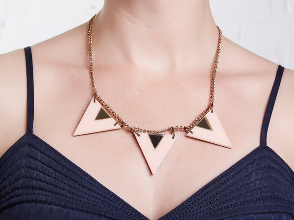 Pink Edie Necklace