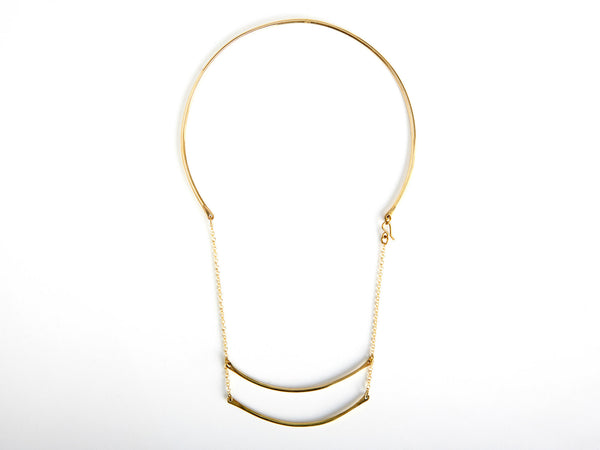 Double offset choker