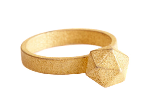 GEOM gold ring