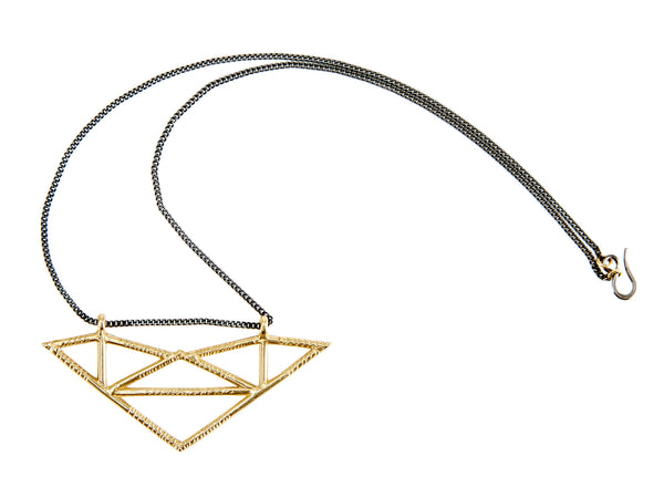 Open Facets Ceylon Pendant
