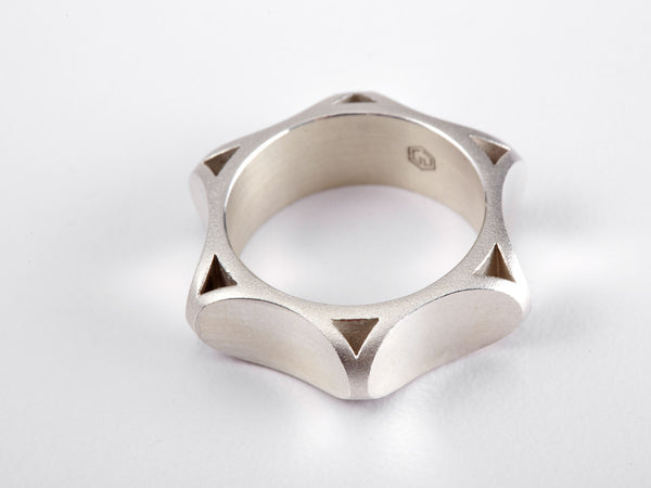 Dakar Wide Band Ring