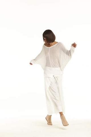 Silk Perforated Dolman