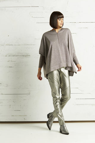 Metallic Swing Sweater