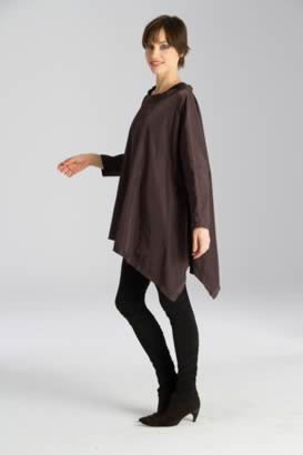 Flounce Tunic With Long Sleeves