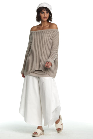 Off Shoulder Knit