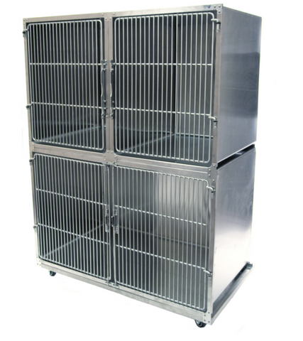 Stainless Steel Kennel & Cage Banks, NorVap, Cages & Kennels