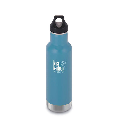 Klean Kanteen - 20oz (592 ml) Vacuum Insulated Bottle (Loop Cap)