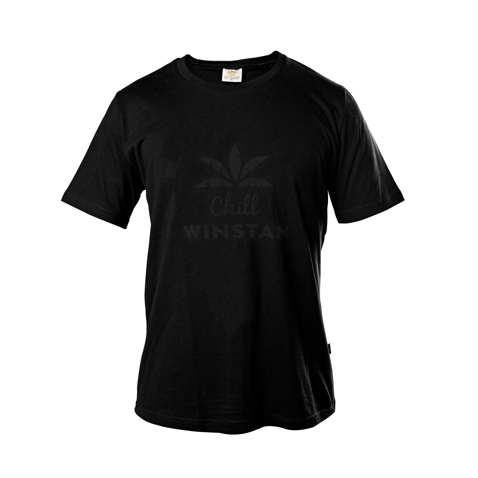 Black T-Shirt / Black Logo