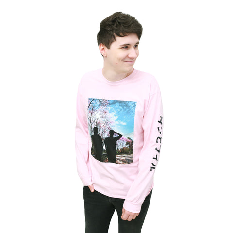 Blossom Long Sleeve Shirt - Light Pink