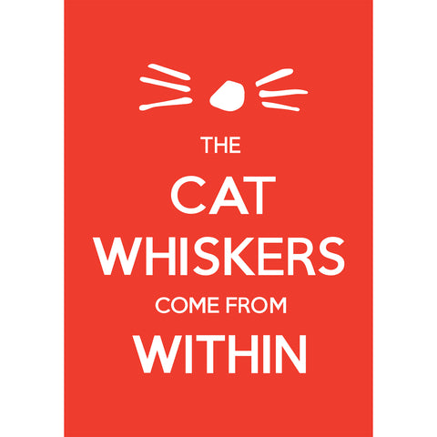 Whiskers Poster