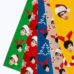 Dan and Phil Holiday Gift Wrap