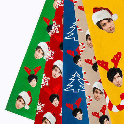 Dan and Phil Xmas Gift Wrap