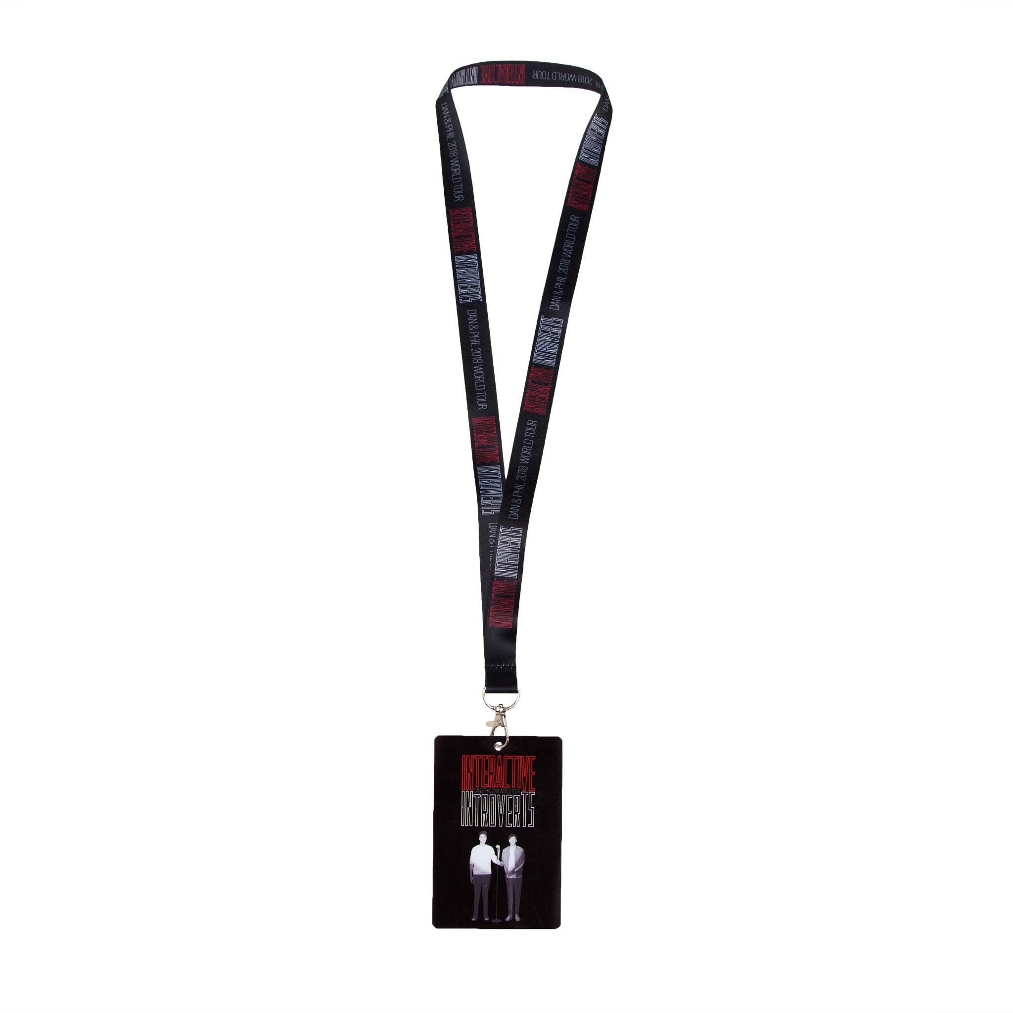 Interactive Introverts Lanyard
