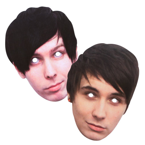 Dan and Phil Face Masks