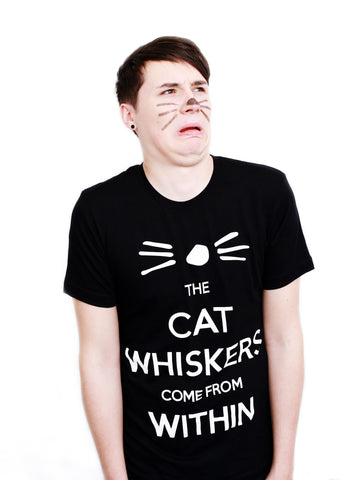 Dan and Phil Whiskers T-shirt