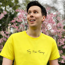 Load image into Gallery viewer, Try New Things Shirt - Yellow