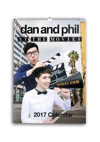 Official Dan and Phil 2017 Calendar