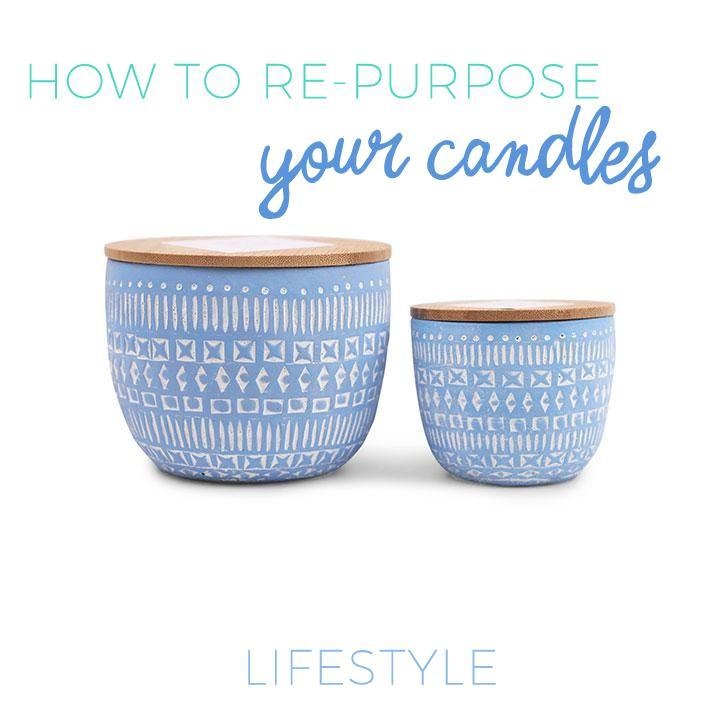 Lifestyle  |  How To Re-Purpose Your Candles