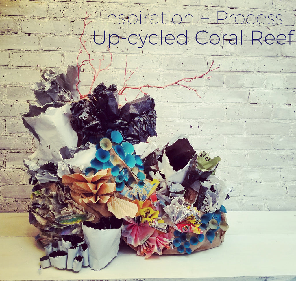 Design + Process  |  Coral Reef Window Displays