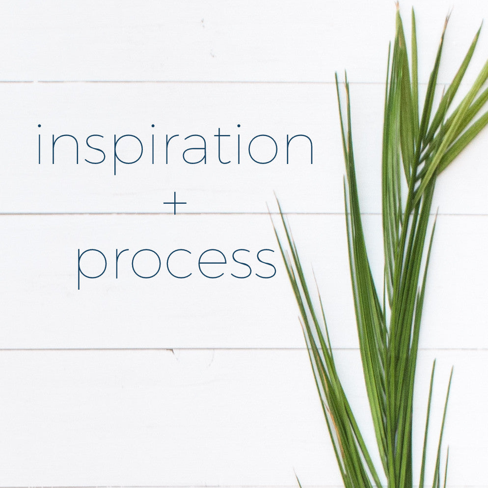 Inspiration + Process  |  About This Topic