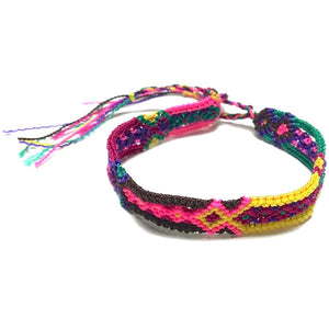 "Friendship Bracelet - 1/2"" wide"