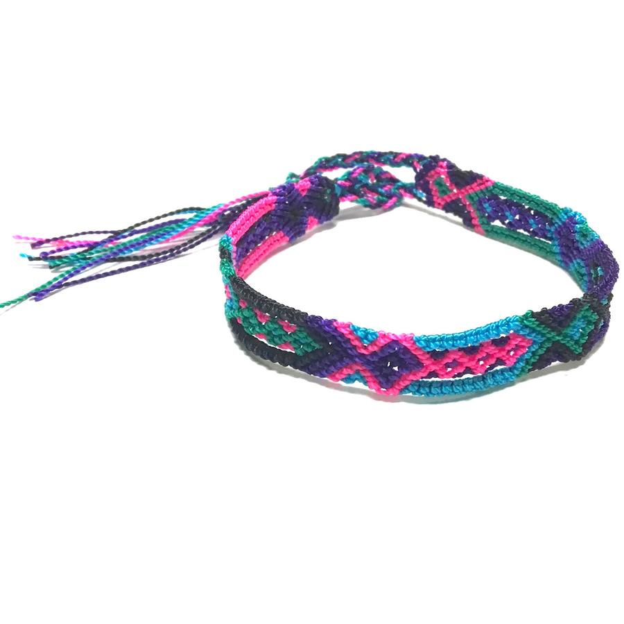 "Friendship Bracelet - 1/4"" wide"