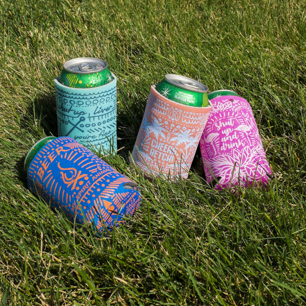 Can Cooler - Keep On Chugging Sea Turtles