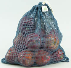 Mesh Produce Bag - Large Blue