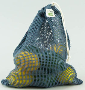 Mesh Produce Bag - Medium Blue