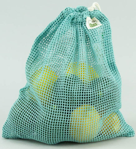 Mesh Produce Bag - Medium Green