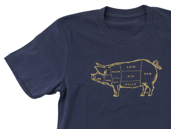 Pork Butcher Chart Men's Tee