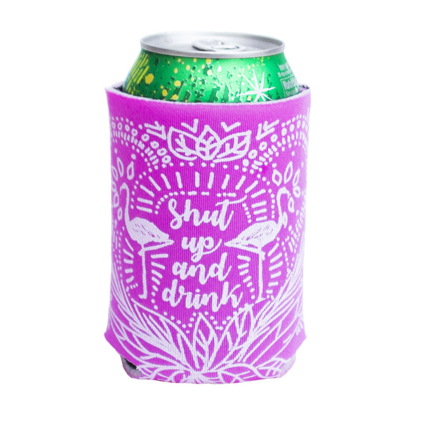 Can Cooler - Shut Up & Drink