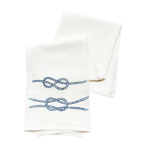 Sailors Knots Tea Towel