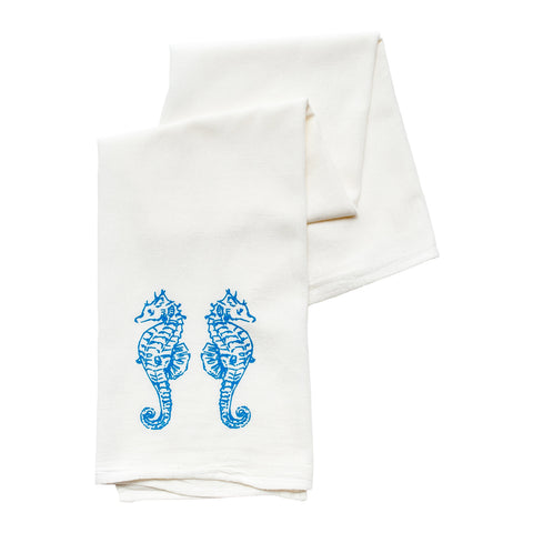 Seahorses Tea Towel