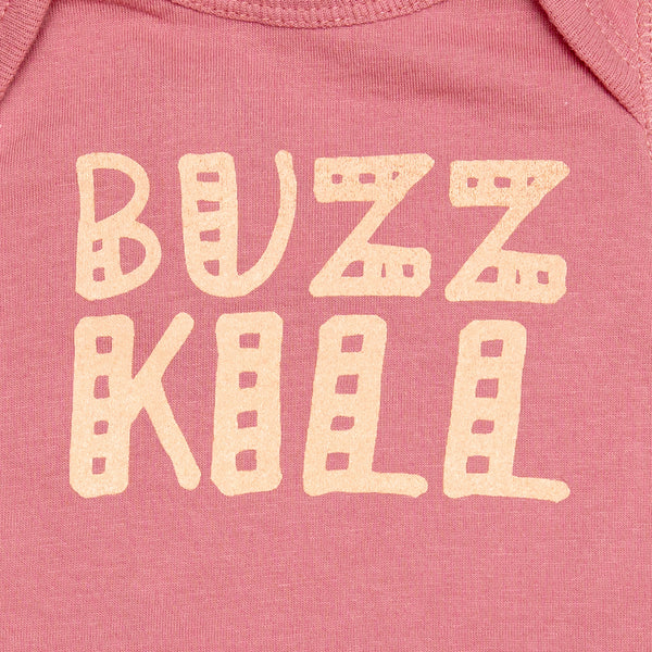 Buzz Kill Onesie - Mauve
