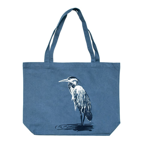 Great Blue Heron Jumbo Tote