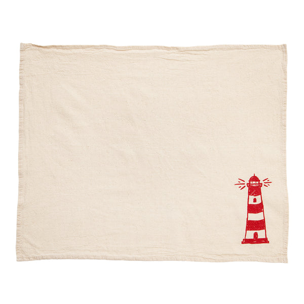 Lighthouse Cloth Napkins - Set of 4