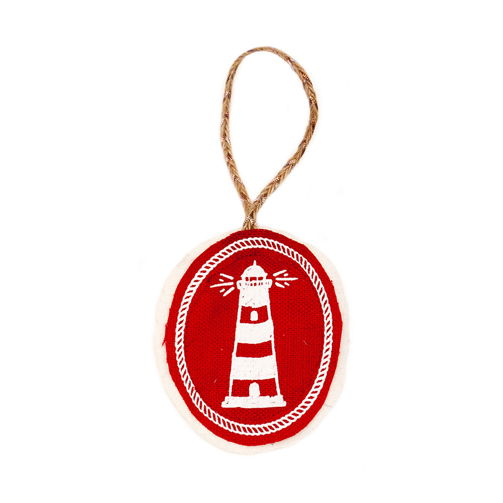 Lighthouse Plushie Ornament