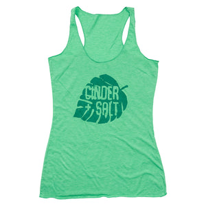 Monstera Ladies Racerback Tank
