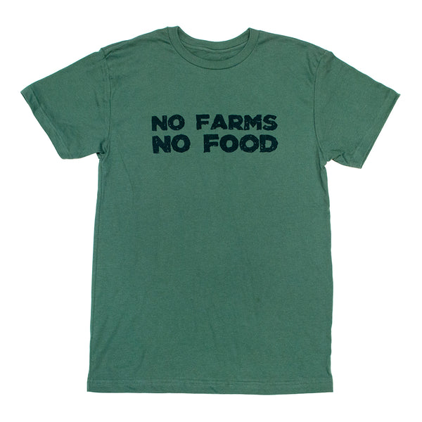 No Farms No Food Eco Men's Tee