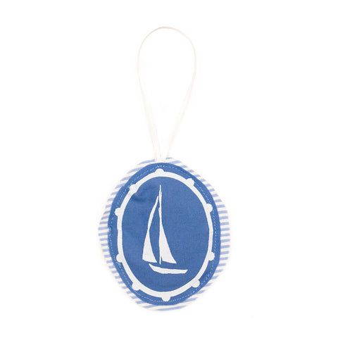 Sailboat Plushie Ornament