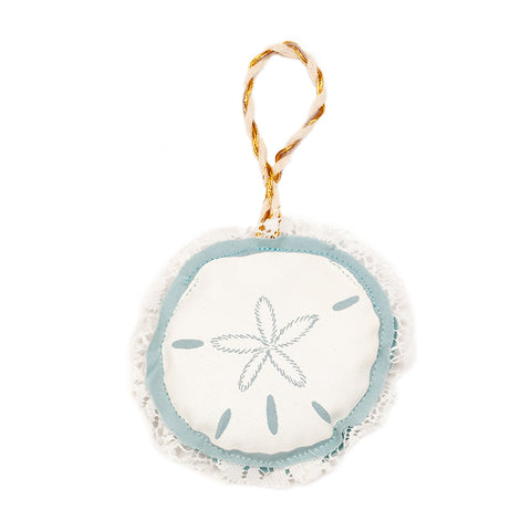 Sand Dollar Plushie Ornament