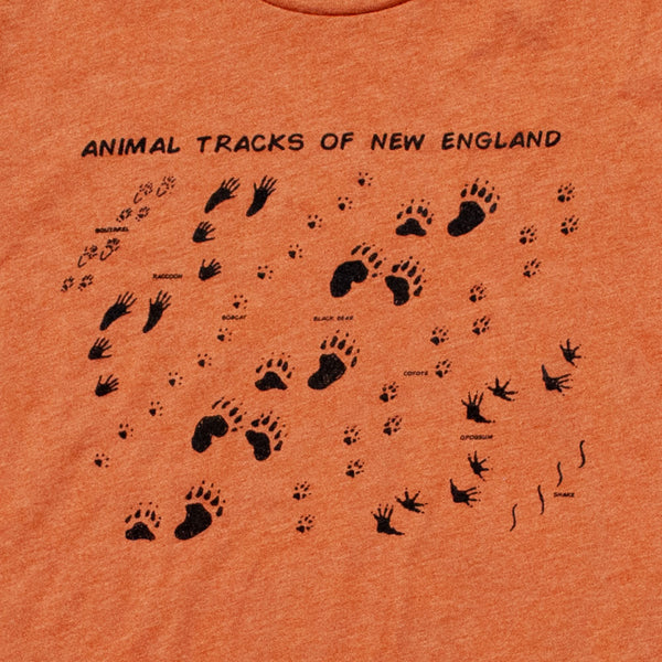 Animal Tracks Mens Tee