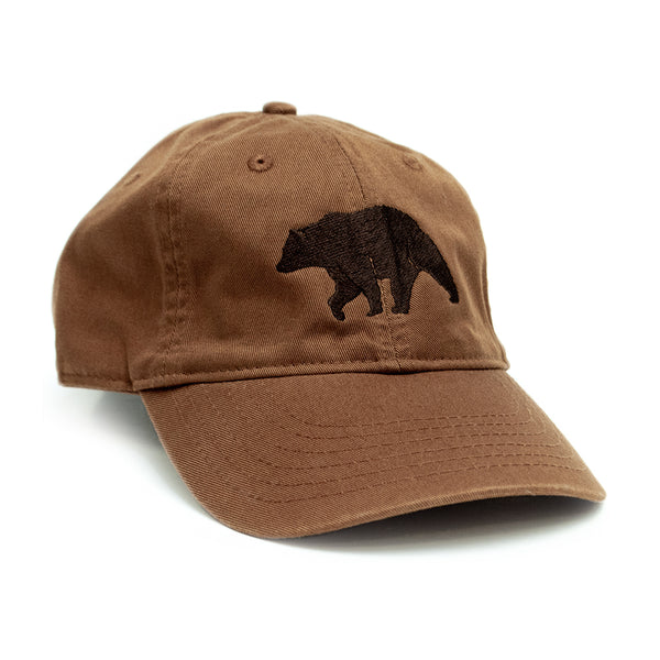 Brown Bear Organic Cotton Cap