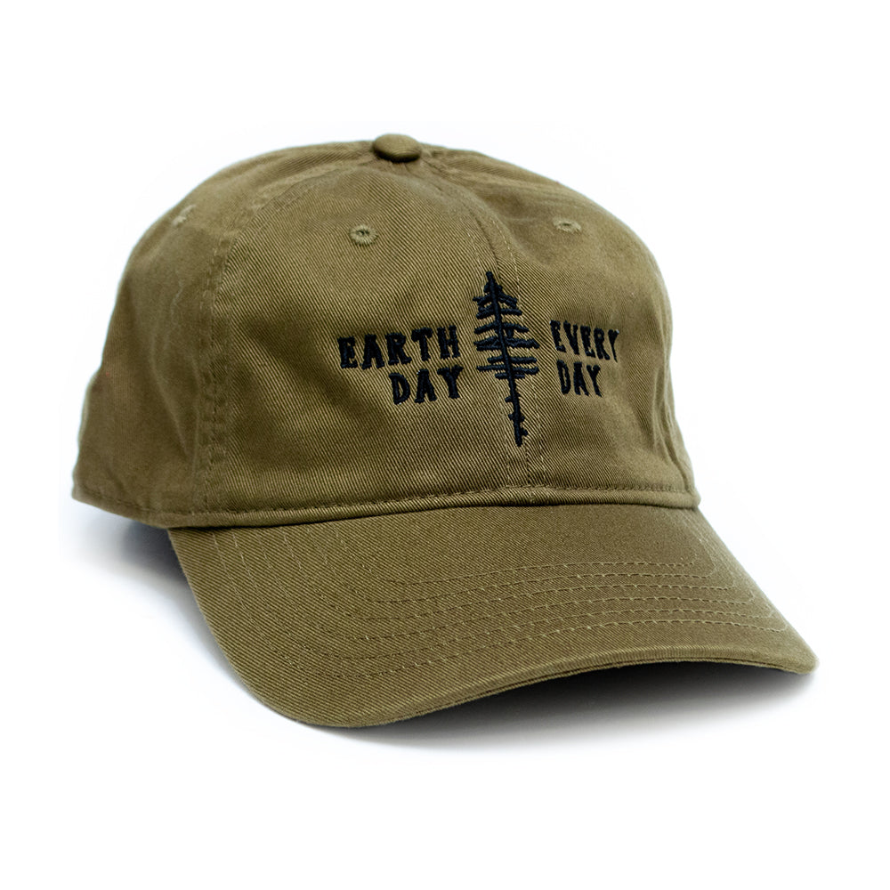 Earth Day Every Day Organic Cotton Cap