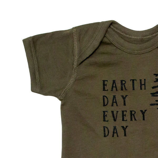 Earth Day Every Day Onesie