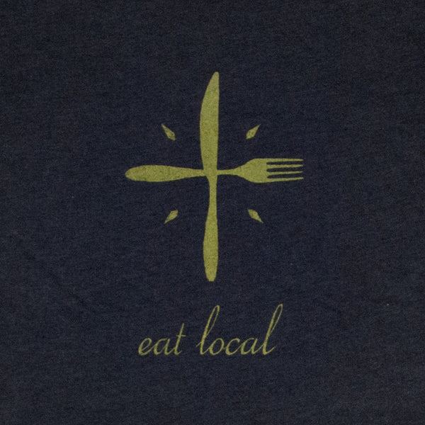 Eat Local Mens Tee